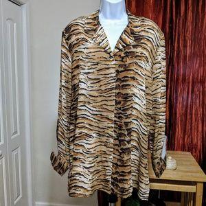 Christie & Jill animal prints shirt